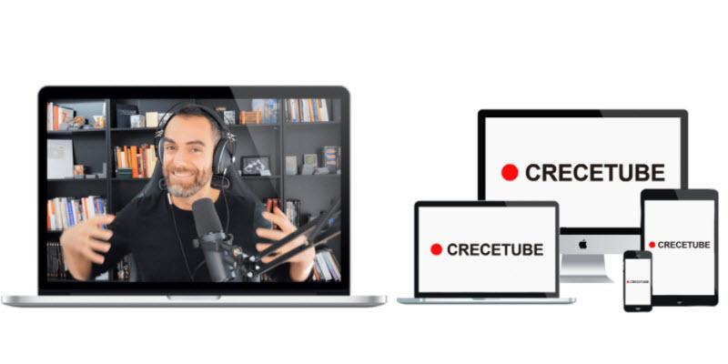 Crecetube - El mejor Curso para Crecer en Youtube