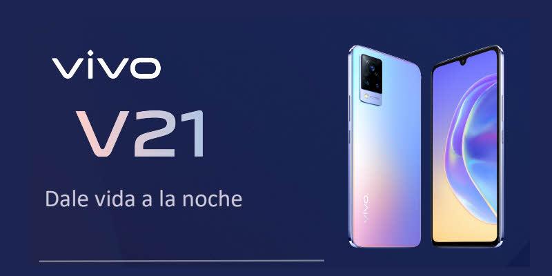 vivo lanza en México su nuevo smartphone V21